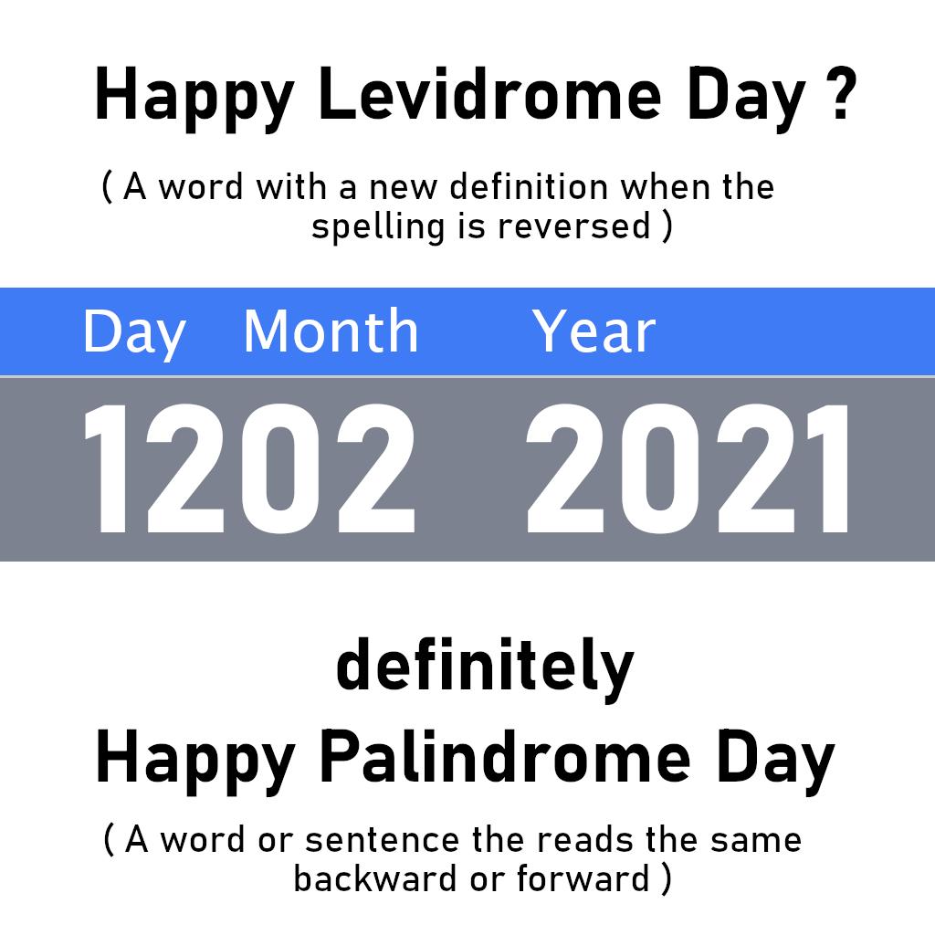 Happy Levidrome Day 2021