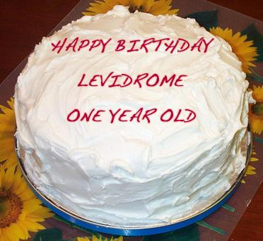 Levidrome - Happy Birthday