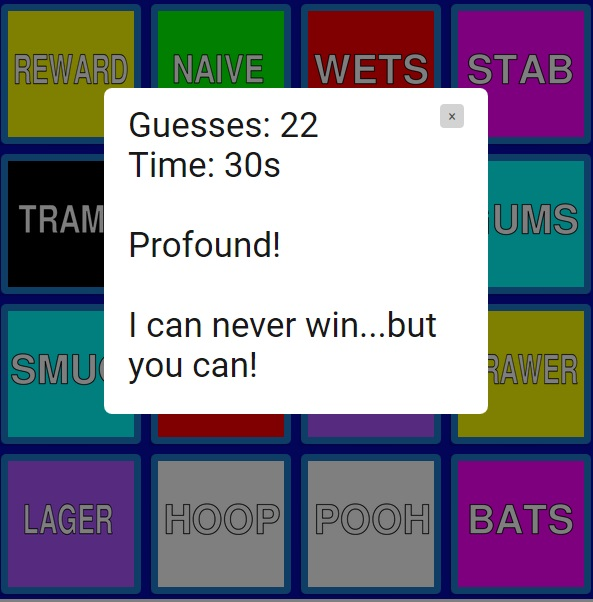Levidrome Memory Game - Hidden Fun