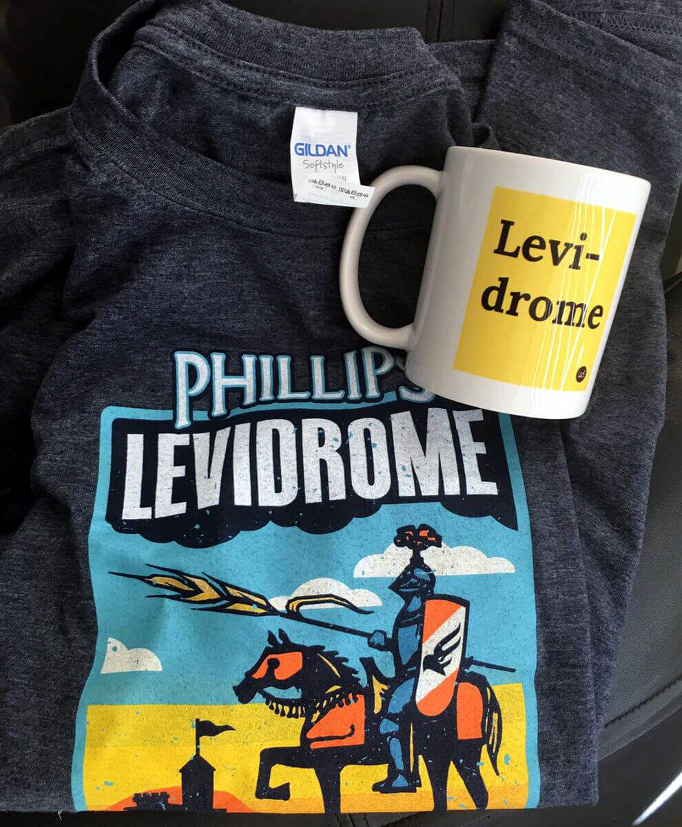 Physical Levidrome